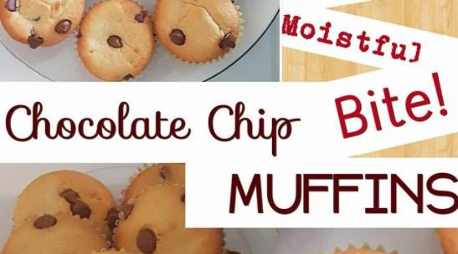 Moist Chocolate Chip Muffin