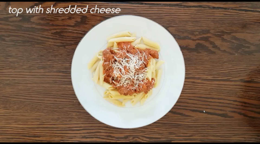 Pasta Bolognese Quick and Easy Recipe