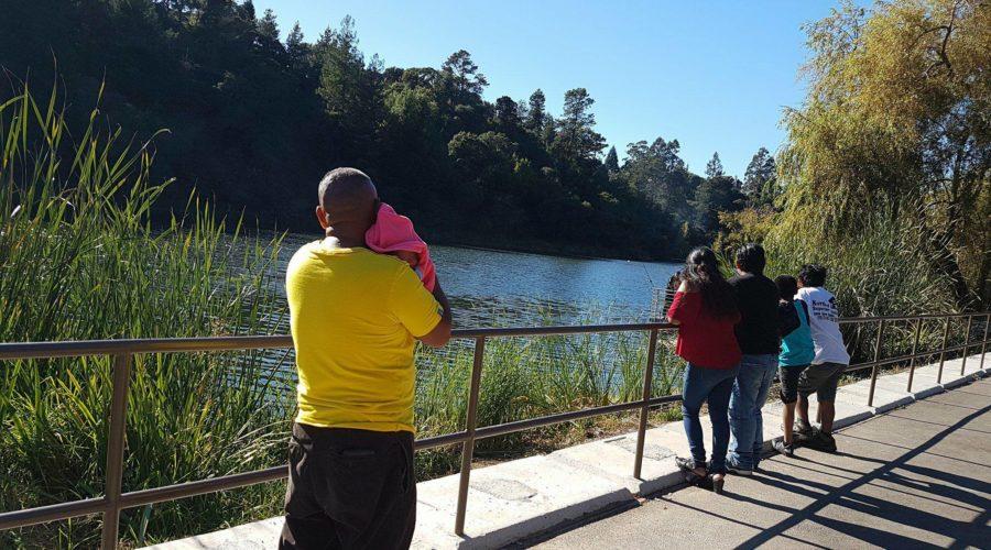 Lake Temescal, Oakland CA: Baby Mia's 1st Outdoor Adventure
