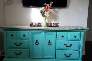 Embossed Word Home Decor