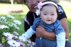 6th Month Old Photoshoot: Baby Mia's  Milestones