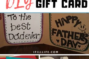 DIY Gift Card for Father's Day