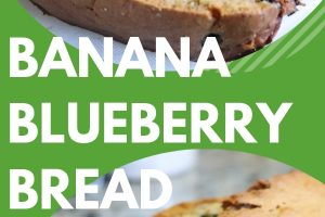 Banana Blueberry Bread for St. Patrick's Day