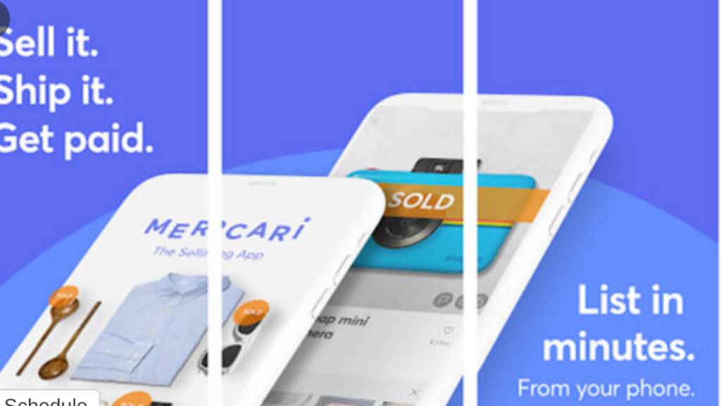 Top mobile apps to sell stuff